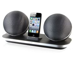 Ilive ISP822B Black Wireless Docking Speaker for iPod iPhone. Amplify iPod and…