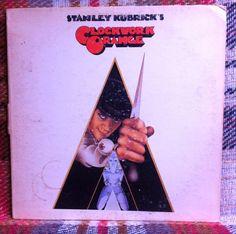 A Clockwork Orange Soundtrack LP Vinyl Record by chezToulouse