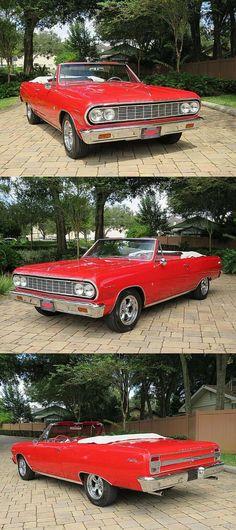 1964 Chevrolet Malibu Convertible [Gorgeous Restoration] American Racing, Chevrolet Malibu, Aluminum Radiator, Cars For Sale, Convertible, Restoration, Cars For Sell