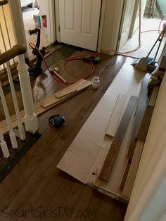 Installing Hardwood On A Stair Landing Stair Landing