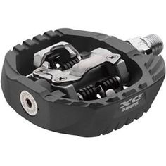 Shimano Pedals: I decided to replace the stock pedals with these cleat enabled ones. So far they've been great without cleat shoes, but I'm sure they'll show their excellence when I purchase some footwear with compatible cleats. Mtb Pedals, Cleats Shoes, Stuff To Buy, Stage, Footwear, Flat, Beauty, Products, Football Shoes