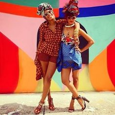 Chichia x Project Tribe African Inspired Fashion, African Print Fashion, Bold Fashion, Tribal Fashion, Bohemian Style, Boho Chic, X Project, African Print Clothing, African Prints