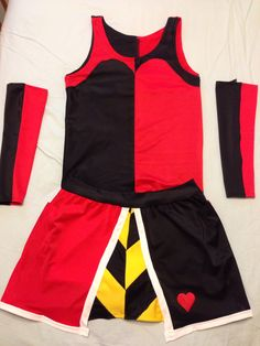 "Queen of hearts running costume created by ""this Princess Runs"""