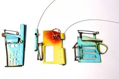 Esme Parsons - urbanisation brooches and necklace