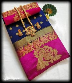 Items similar to Beautifull peacock design tussar silk saree with Beautiful contrast Blouse for wedding marriage function gift / Saree for women on Etsy Indian Designer Sarees, Designer Sarees Online, Buy Sarees Online, Indian Sarees, Kanjivaram Sarees, Resort Dresses, Peacock Design, Work Sarees, Fall Jewelry