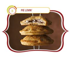 Mini S'mores Hand Pies  These mini hand pies take everything we love about s'mores – crunchy graham crackers, melty chocolate, ooey-gooey marshmallows – and mix them together in a handheld pie pocket that delivers a perfect taste of summer.