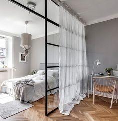 Ideas para separar tu dormitorio