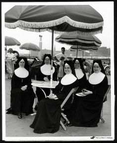 Sisters on the Admiral, 1955 by Missouri History Museum, via Flickr