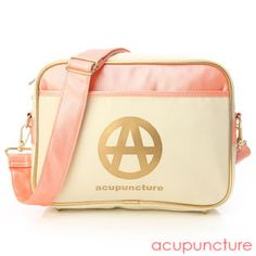 It's a pink, acupuncture purse. Cannot see anything wrong yet.