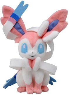 Sylveon Plush. Want to snuggle it so bad!!