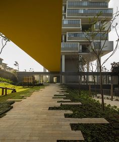 "360º Building - Brazilian architect Isay Weinfeld designed this apartment block in São Paulo as 62 ""houses with yards""."