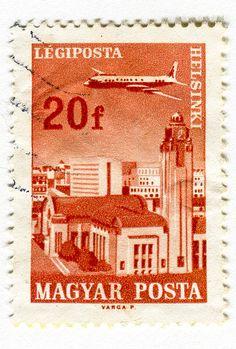 Magyar Posta Stamp: Helsinki