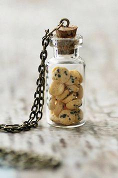 Cookie Jar Necklace.