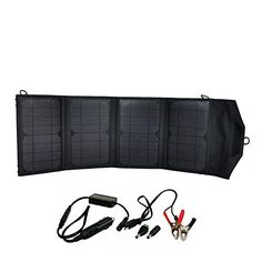 Power Inverters - Instapark Mercury27 27watt Compact Foldable Solarpowered Battery Charger with 12V Output for Instapark Mars20S Duracell Powerpack Series  Wagan Power Dome Series and Dual USB Ports *** Find out more about the great product at the image link. (This is an Amazon affiliate link)