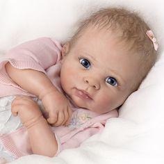 Ashton Drake | Moment In My Arms, Ashton Drake Doll. 03-01811-001
