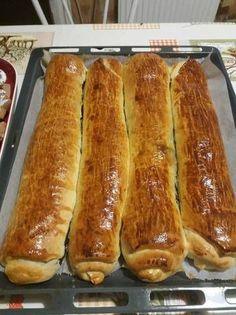Baking Muffins, Hungarian Recipes, Strudel, Creative Food, Hot Dog Buns, Food And Drink, Yummy Food, Sweets, Bread