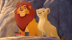 Here is a shot of Simba and Nala from The Lion Guard. The Lion Guard Nala
