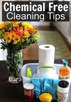 Chemical Free Cleaning Tips · Happily Hughes