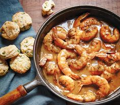 Emeril Legasse's Easy Barbecue Shrimp-- best served with cheese grits!