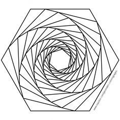 Geometric Coloring Pages