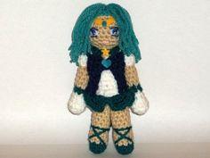 Sailor Neptune Crochet Doll by blackmoonflower on Etsy, $30.00