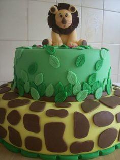 bolo selva leão