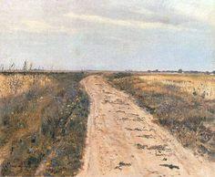 Droga w polu Józef Chełmoński 1889