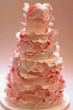 simple homemade wedding cake 2014 #wedding #cake #2014