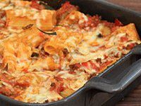 RIGATONI BAKE WITH GROUND BEEF AND CHEESE   This rigatoni bake is a great everyday meal for the family. Serve this pasta casserole with fresh baked cornbread or garlic bread and a tossed salad. CLICK FOR RECIPE