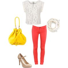 love the solids. love bright. and i love white.