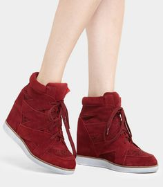 love love love ;) What do you think... Wedge sneakers, hit or miss? (Jeffrey Campbell Venice Hidden Wedge Sneakers)