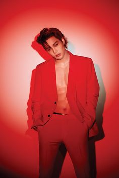 """181207 — Exo to release their Repackage album """"Love Shot"""" on December They started to share photo teaser for their upcoming album with hot pictures of Kai and Sehun in Red 🔥 Checkout their teaser below Baekhyun Chanyeol, Park Chanyeol, Kim Jongin Exo, Exo Kai Abs, Exo Smtown, Suho Abs, Taemin, Shinee, Kpop Exo"""
