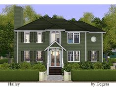 Hailey country style family home by Degera - Sims 3 Downloads CC Caboodle