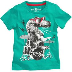Epic Threads Kids T-Shirt, Little Boys Dino Rock Tee on shopstyle.co.uk