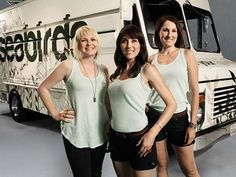 The Great Food Truck Race ... The Vegan truck (Seabirds) ... Love their effort in mainstream society