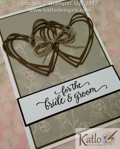 Stampin' Up! Wedding Cards (3)