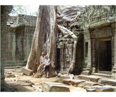 Ta Prohm  - outside Siem Reap, Cambodia.  Ditch the 9-5 and go travelling!