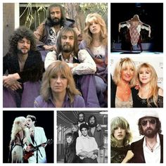 Fleetwood Mac Collage Created By Tisha 01/25/15