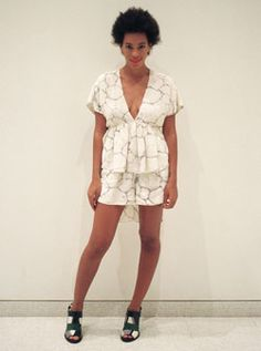 Solange Knowles Fashion Photo Blog, day 13 (Vogue.com UK)