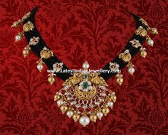 Latest Black Dori Necklace