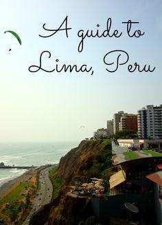 What to do in Lima, Peru. #travel #Peru