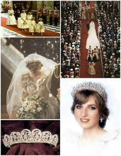 The wedding of Princess Diana and Prince Charles by Bridal Styles Boutique, via Flickr