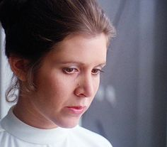 Carrie Fisher - Princess Leia - Star Wars - The Empire Strikes Back ♥ RIP PRINCESS 12/27/16