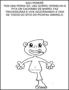 Saci Pererê do Sítio do PicaPau Amarelo