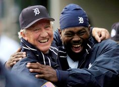 Al Kaline and Dmitri Young