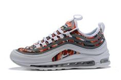 Mens Sneakers Nike Air Max 97 UL 17 SE Multi-color White Silver 924452- 57be7ebe9