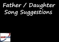 Classic Rock Father Daughter Dance Songs