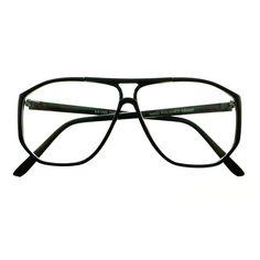 "FREYRS.com l TRUE RETRO VINTAGE STYLE CLEAR LENS AVIATOR EYEGLASSES FRAMES A1800 (5.5"" wide)"
