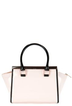 68cdd6e6685 Ted Baker Caranna Colour Block Tote Bag in Nude Pink.  tedbaker  bags
