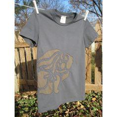 Fish Motif Hand Stitched Reverse Applique T Shirt от NewFlight